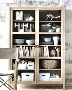 Björksnäs la collection Ikea arrive en octobre - PLANETE DECO a homes world - - Ikea Inspiration, Interior Inspiration, Cabinet Of Curiosities, Built In Bookcase, Bookcases, Interior Decorating, Interior Design, Interior Colors, Wooden Cabinets