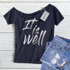 Christian Tee Shirts, Christian Apparel, Off The Shoulder Tee, Statement Tees, Fall Shirts, Diy Shirt, Graphic Shirts, Shirt Designs, T Shirts For Women