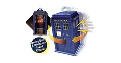 Doctor Who: Eleventh Doctor Flight Control TARDIS Now you can control your very own TARDIS with this nine inch electronic toy TARDIS which is in scale with the Doctor Who action figure range. It includes eight motion activated interactive sound effects, flashing TARDIS Lantern, opening front doors and telephone door.