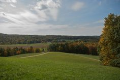 Within the Mohican Hills in Monroe Township, you'll find one of Ohio's most stunning summits. At 1,310 ft. tall, Mount Jeez offers a wide open, beautiful view of Ohio's countryside. (You can find the path for Mount Jeez Overlook off of Pleasant Valley Road.)