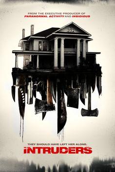 Intruders (2015) Movie Poster - Martin Starr, Beth Riesgraf, Rory Culkin  #Intruders, #2015, #MoviePoster, #AdamSchindler, #Horror, #BethRiesgraf, #Poster, #MartinStarr, #RoryCulkin