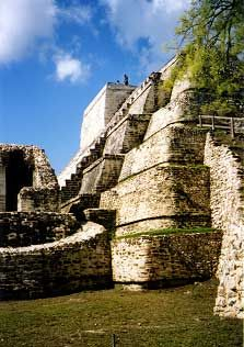 Belize--I actually climbed this while I was there, talk about tiring!!