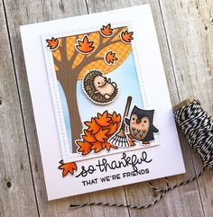 Hello! It's Wednesday and time for a new Color Throwdown Challenge . For my card, I used the cute Lawn Fawn Stamp set, Jump fo...