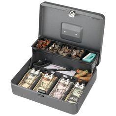 STEELMASTER 2216194G2 Tiered Tray Cash Box