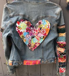 Jean jacket hippie boho embellished colorful denim jean jacket - Jeans Jacket - Ideas of Jeans Jacket - Jean jacket hippie boho embellished colorful denim jean jacket Boho Hippie, Jean Hippie, Boho Gypsy, Hippie Jeans, Jean Jacket Outfits, Denim Outfit, Jacket Jeans, Womens Fashion Online, Latest Fashion For Women