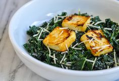miso kale salad with miso roasted tofu Delicious!  I make it with out the tofu and still gobble it up!