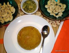 Rava Kesari, a delicious Indian sweet for the special occasion of Basant Panchami. Learn how to make this semolina dessert with steop by step photograph and detail ..