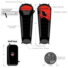 Hammock Compatible Sleeping Bag
