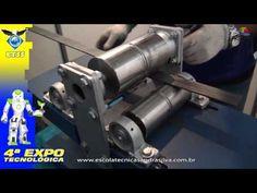 4ª EXPO -Escola Técnica Sandra Silva -mecânica - calandra manual para tubos - YouTube