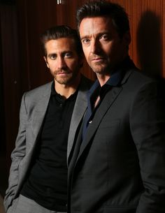Hugh Jackman and Jake Gyllenhal. They both need nominations this year.