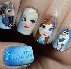 Frozen nails