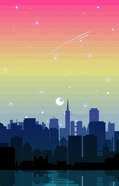 Pansexual Pride Cityscape by spadenightmaren Phone Backgrounds, Wallpaper Backgrounds, Iphone Wallpaper, Pansexual Pride, Gay Aesthetic, Rainbow Aesthetic, Retro Wallpaper, New Wall, Gay Pride