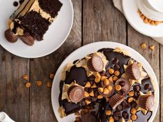 Peanut Butter Cup Ice Box Cake