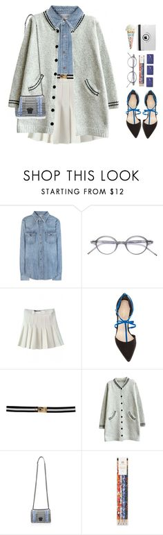 """*1407"" by cutekawaiiandgoodlooking ❤ liked on Polyvore featuring Polo Ralph Lauren, Thom Browne, Paule Ka, Kate Spade, Versace, women's clothing, women, female, woman and misses"