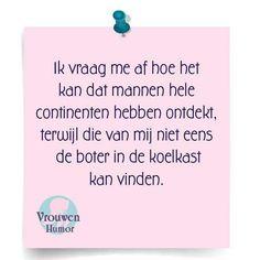 #Vrouwen Humor