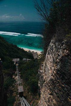 Funicular to Finns Beach Club Bali