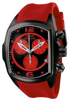 Invicta Men's Lupah Revolution Swiss Chronograph Polyurethane Strap Watch (model 6728)