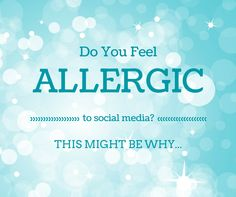 Do You Feel Allergic To Social Media? This Might Be Why