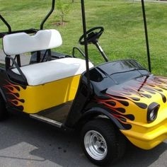Melissa's Golf Cart Custom Body Kits - click 4 Body Kits Custom Golf Cart Bodies, Custom Golf Carts, Golf Cart Body Kits, Custom Body Kits, Vintage Cars, Creative, Motorbikes, Classic Cars, Retro Cars