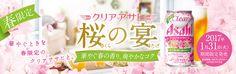 [春限定]クリアアサヒ 桜の宴