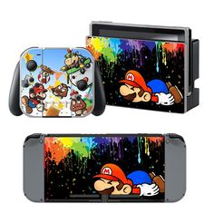 HonSon Group Electronic CO., LTD sell Nitendo Switch Full Stick Many design Nintendo Switch Accessories, Settings App, 5th Birthday, Super Mario, Lunch Box, Gaming, Technology, Electronics, Design