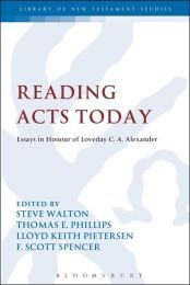 Book Review: Reading Acts Today: A Festschrift for Loveday