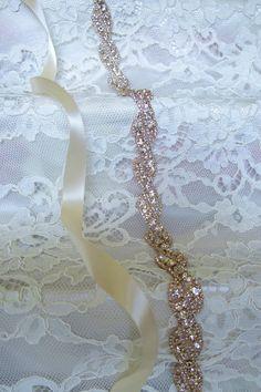 Affordable Bridal Belts + Sashes