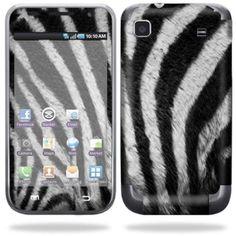 Skin Decal Wrap for Samsung Galaxy S i9000 Zebra