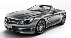"""Must be the coolest roadster ever, this Mercedes-Benz SL65 AMG """"45th ANNIVERSARY"""""""