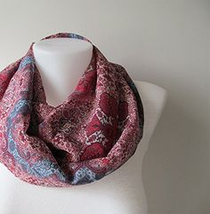 Kilim Pattern Infinity Scarf, Boho Scarf, Red Blue Chiffo... https://www.amazon.com/dp/B01HLNASYQ/ref=cm_sw_r_pi_dp_x_69meAbER0AM29