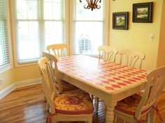 The Comforts of Home: Kitchen Table Redo