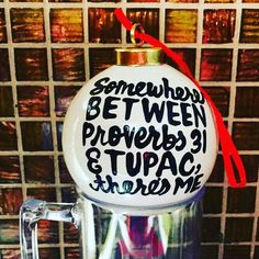 Tupac Resurrection, Make A Girl Laugh, Christmas Time, Christmas Ornaments, I Cup, Proverbs 31, Etsy Shop, Holidays, Holiday Decor