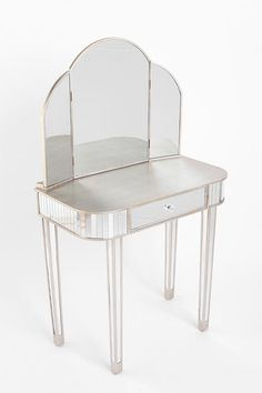 Dreamed of having a vanity in my bedroom since I was a little girl!!! Fairest Of Them All Vanity Table   #UrbanOutfitters