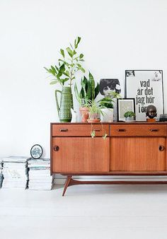 Could you be doing more with your credenza? The layered and lush styling of this one has us reconsidering ours.