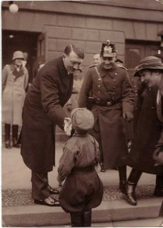 This post is to show how the people thought of Adolf Hitler, mainly the children.