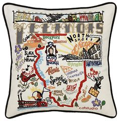 This Illinois pillow is a dream, but why does it have to be so expensive? :( $149.00