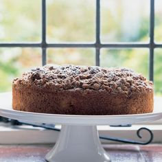 Spiced Apple Muffin Cake with Pecan Streusel Topping | Recipes | Delia Online