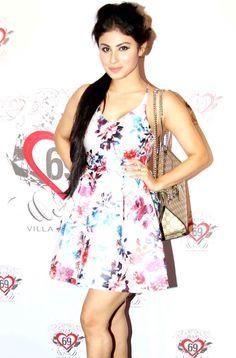 Mouni Roy at Ken Ghosh's birthday bash. #Bollywood #Fashion #Style #Beauty #Hot