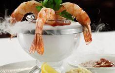 Jumbo Shrimp Cocktail with atomic horseradish #appetizers #shrimp #PalmRestaurant #ThePalm