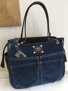 Replay Jeans mit Leder in Kastanie www.pabu.at