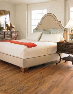 Vanguard Furniture - Our Products - V1722K-PF Kaylee King Platform Bed