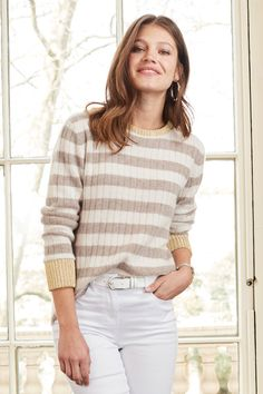 Together Striped Sweater at EziBuy New Zealand. Buy women's, men's and kids fashion online. Kids Fashion, Fashion Outfits, Womens Fashion, Model Pictures, Online Clothing Stores, Sweater Fashion, European Fashion, Turtle Neck, Skinny Jeans