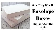 Envelope Box tutorial for dimensional cards. - Club ScrapCreate an envelope box with an Envelope Punch Board perfect for mailing dimensional and embellishment-heavy cards. I love making cards with ornate and dimensional embellishments. Envelope Tutorial, Envelope Box, Envelope Punch Board, Envelope Templates, Envelope Sizes, How To Make An Envelope, How To Make Box, Fun Fold Cards, Folded Cards