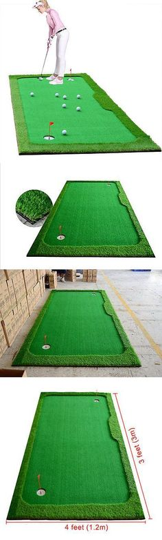 Golf putting green indoors, golf training aids, golf practice green, golf drills indoors, golf drills at home, golf training aid diy, short game practice drills, golf tips, golf, golf swing tips, golf short game tips #EasyGolfTips