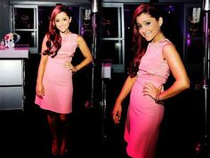Ariana Grande-love how she did her hair! Ariana Grande Facts, Cat Valentine, Favim, Hair And Nails, Her Hair, Bodycon Dress, Formal Dresses, Tattoos, Beautiful