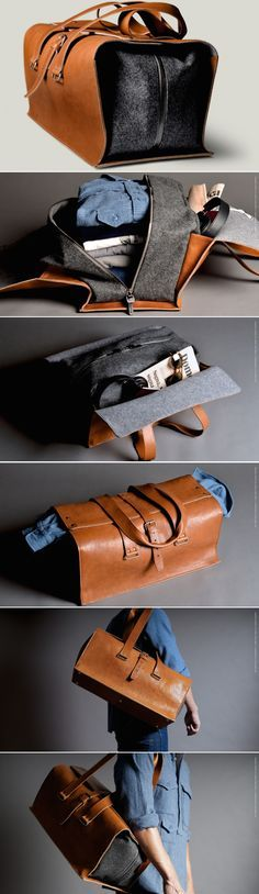 Beautiful leather travel bag 1st Edition Travel Bag