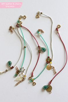 I think 2013 is the summer is the summer of bracelets, I feel like I have made hundreds of versions. I wear a bunch, leave them around th...