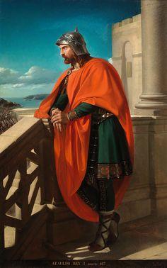 Ataúlfo. Primer rey visigodo de la peninsula iberica.