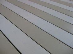 Trex deck over back cement patio Painted Porch Floors, Porch Paint, Porch Flooring, Painted Rug, Porch Wood, Wood Patio, Cement Patio, Tan House, House Deck