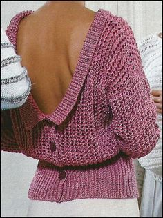 Many models tutorials for women Pull Crochet, Knit Crochet, Sweater Hoodie, Pullover, Knitting Designs, Knitting Patterns, Couture, Schneider, Knit Fashion